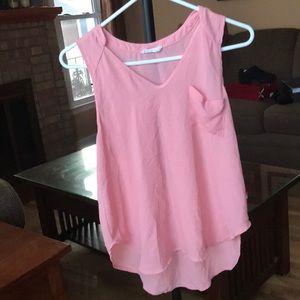 Lush Tops - Lush pink tank top